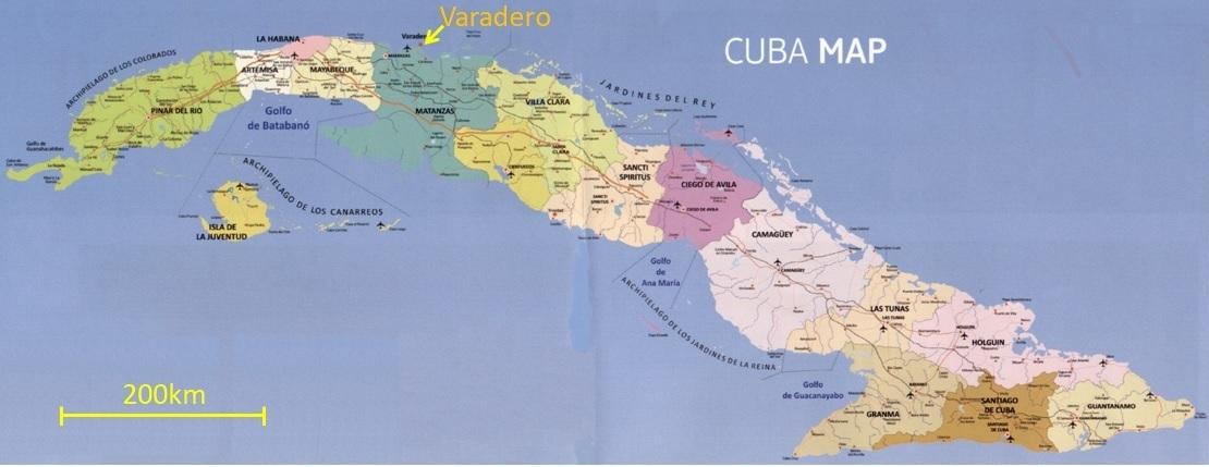 Kuba Karte Rundreise.Rundreise Im Westen Von Kuba